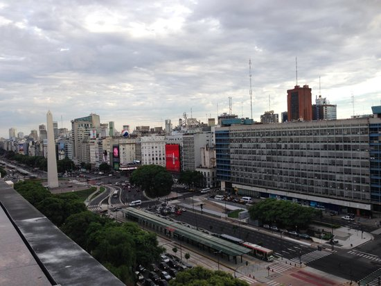 NH Buenos Aires 9 de Julio: View from my room