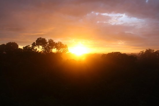 Refugio Amazonas: Sunrise at 0530