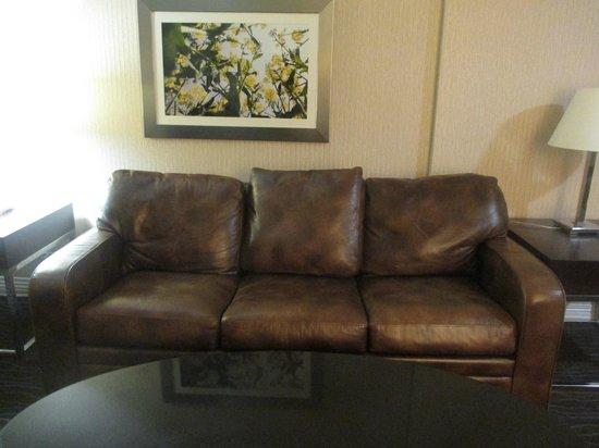 Sheraton Salt Lake City Hotel: Loft room Livingroom