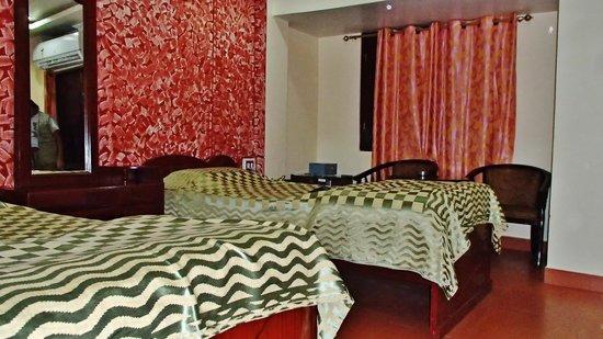 Daporijo, Indien: Chambre