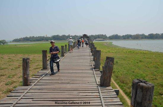 Pont d'U Bein : Il ponte