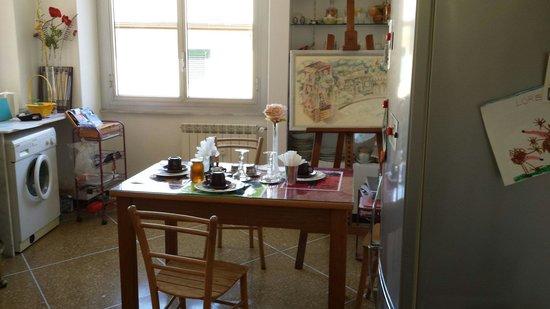 Art Bed & Breakfast : Cucina