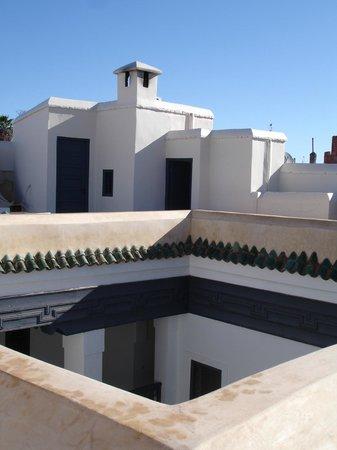 Riad Dar-K: Terrasse