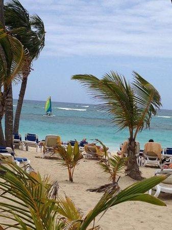 Hotel Riu Naiboa: playa del riu