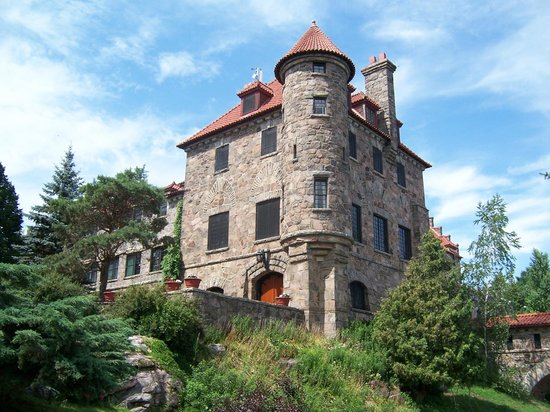 Chippewa Bay, Estado de Nueva York: impressive castle