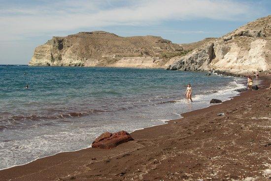 Red Beach: На пляже