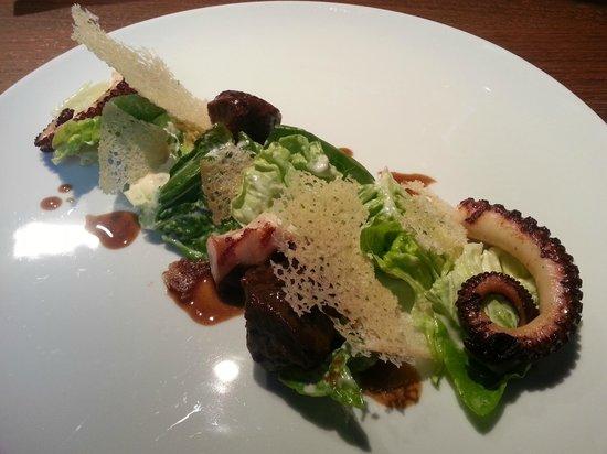 KOISHI fish & sushi restaurant: octopus / veal cheeks