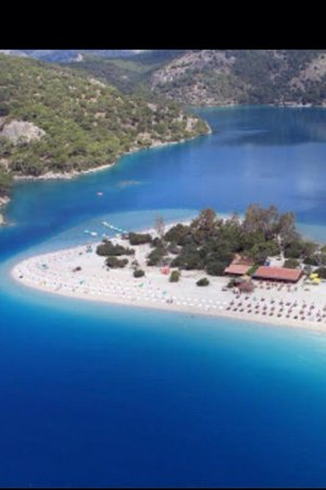 Majestic Hotel: Blue lagoon beach
