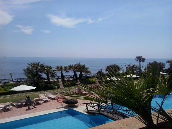 Gran Hotel Elba Estepona & Thalasso Spa: Vistas desde la habitación.