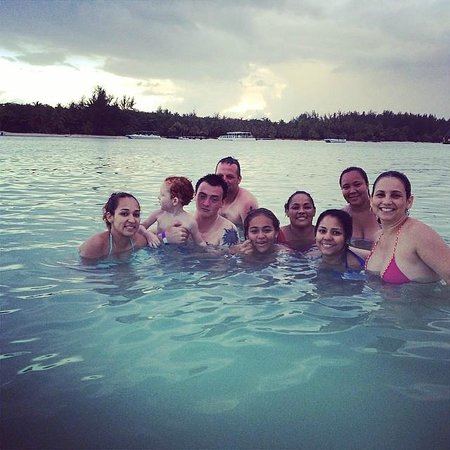 Punta Cana Day Excursions: At natural pool!!!