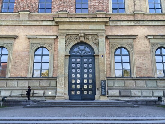 Alte Pinakothek : 正面玄関