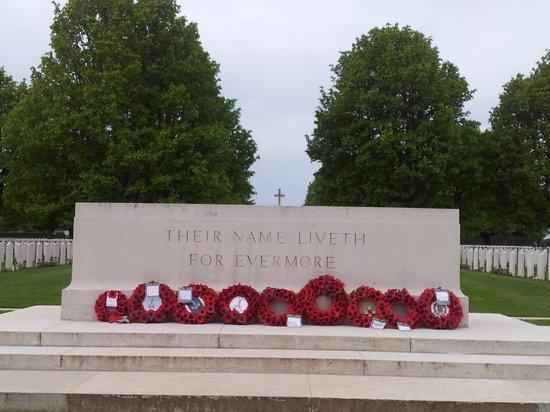 Cimetière Militaire Britannique : Cemetery 1