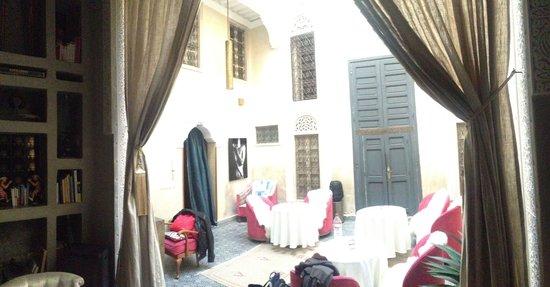 Riad Anata : Der Innenhof