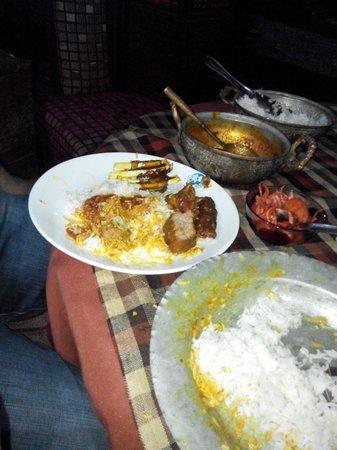 Jammu, Hindistan: Trami or Kashmir thali