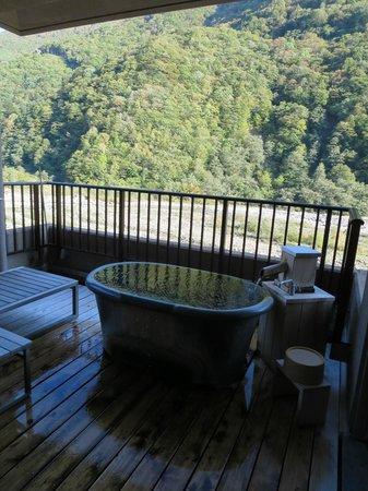 Yukimurasaki: 「宙」の露天風呂
