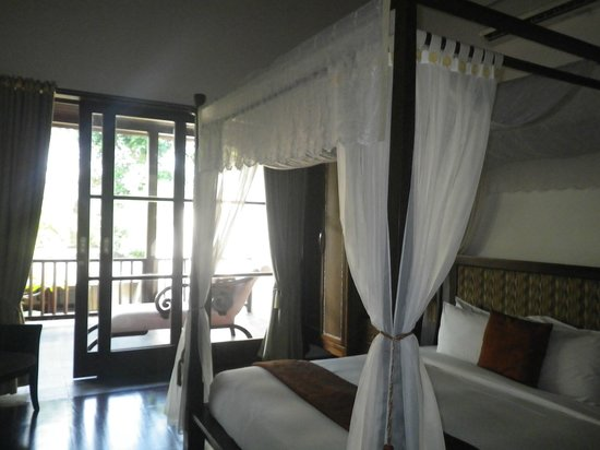 Gending Kedis Villas & Spa Estate : chambre 2 a l'étage