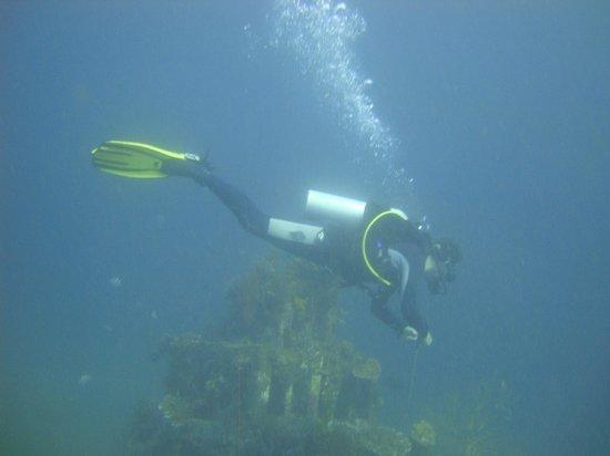 Adventure Divers Bali: That's David