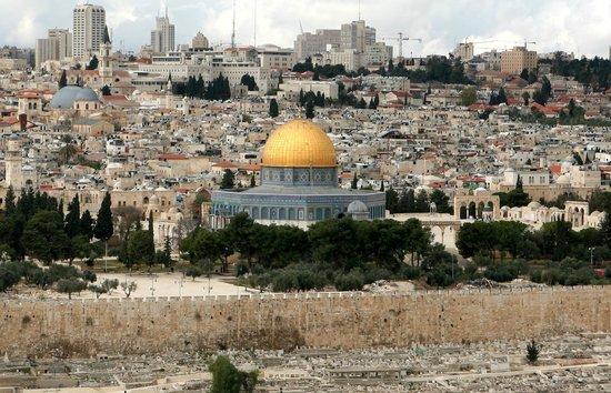 Mur des lamentations : Jérusalem vue générale