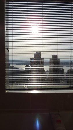 Mandarin Oriental, New York : vue de la sdb