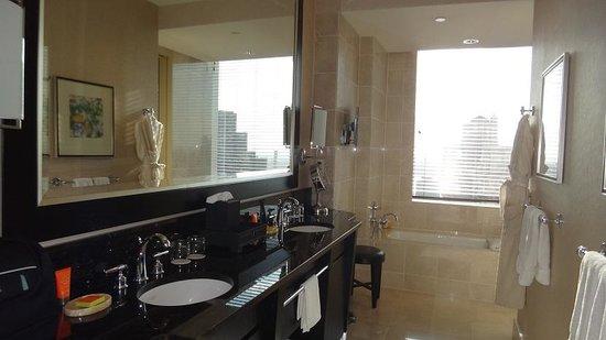 Mandarin Oriental, New York : la salle de bain