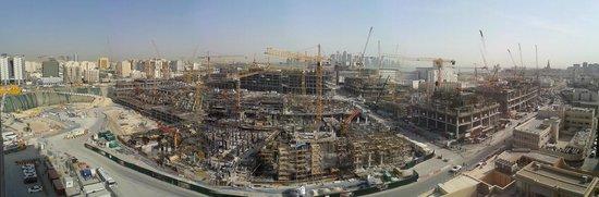 Mercure Grand Hotel Doha: vue de notre chambre