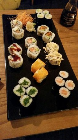 Jorudan Sushi : Sushi misto per due :)