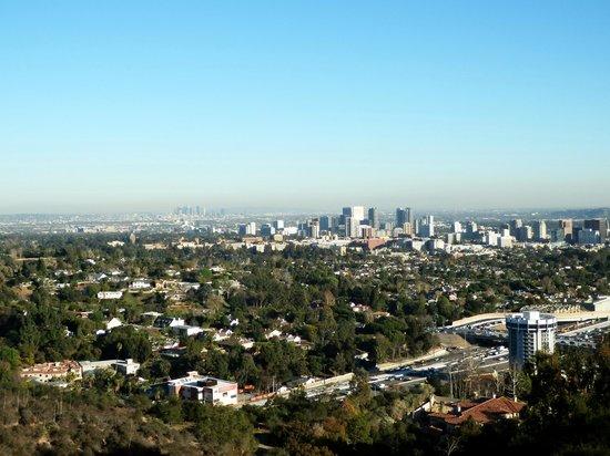 Griffith Park : Los Angeles depuis le parc du getty center