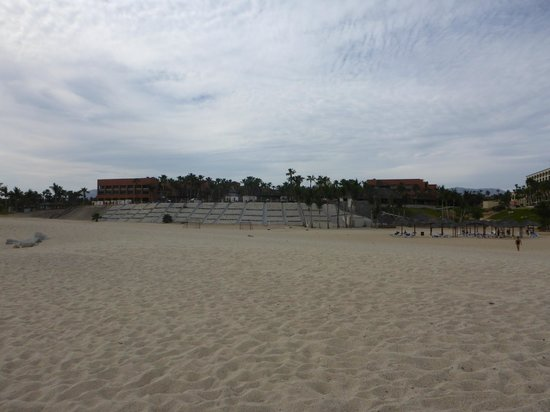 Paradisus Los Cabos: how far from palapa's to resort