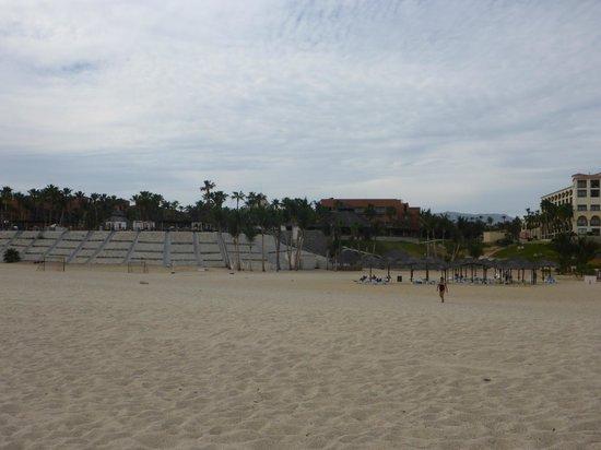 Paradisus Los Cabos: rough sand
