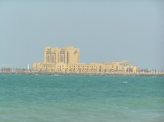DoubleTree by Hilton Resort & Spa Marjan Island: The hotel from a distance