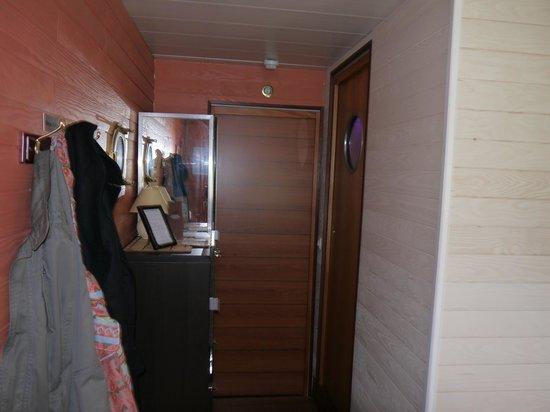 Chambre d'Hôtes Péniche MIRAGE : la chambre