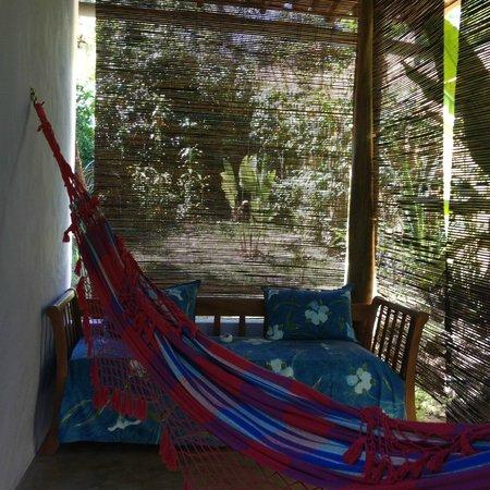 Pousada do Bosque: Varanda do Quarto Colonial.