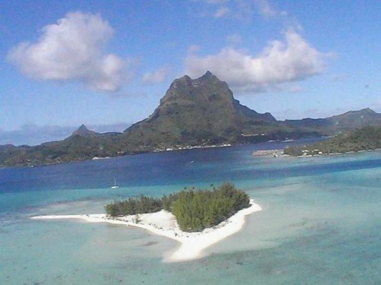 Bora Bora Photo Lagoon : vue générale de Bora-Bora