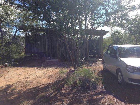 Etosha Village : outside tent