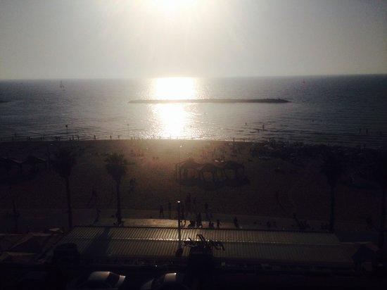 Sheraton Tel Aviv Hotel : Sunset !