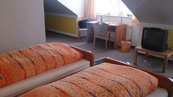 Stadthotel Oldenburg: Doppelzimmer, Dachgeschoss