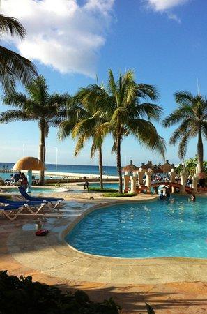 El Cozumeleño Beach Resort: View from my room
