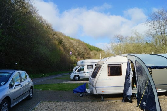 Hidden Valley Touring & Camping Park : View of valley side