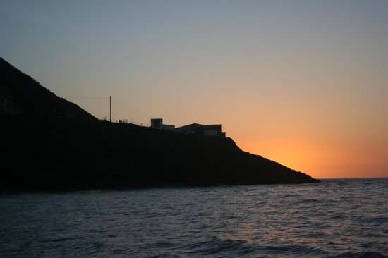 SeaMor Dolphin Watching Boat Trips : stunning sunsets across the bay