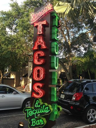 Rocco's Tacos & Tequila Bar - Fort Lauderdale: The Sign