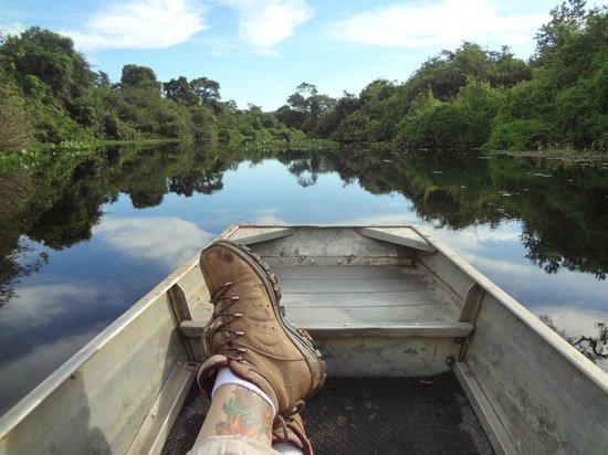 Araras Pantanal Ecolodge: Corixo.