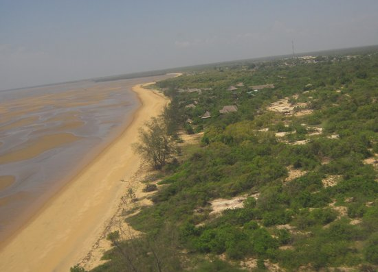 Saadani Safari Lodge : Were bush meets sea