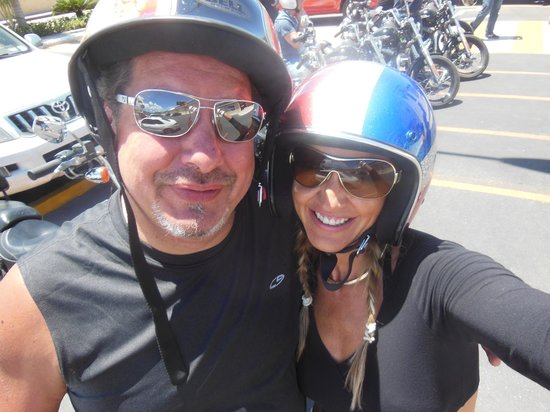 Dominican Riders - Day Tours : cant wipe the smile off