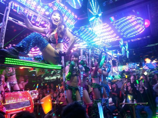 Robot Restaurant has more Show Girls than robot