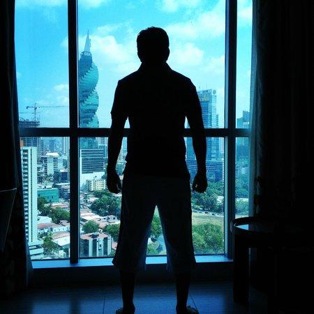Hard Rock Hotel Panama Megapolis: una hermosa vista que hasta poderoso te sientes!