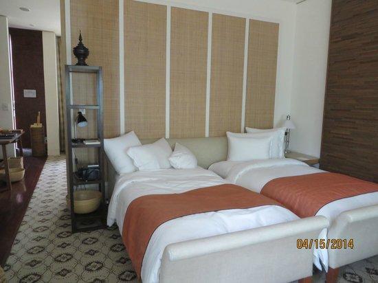 Grand Hyatt Erawan Bangkok: Our beds