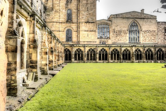 Durham Cathedral: cloister
