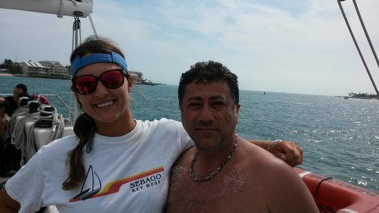 Sebago Key West: my favorite person on the ship