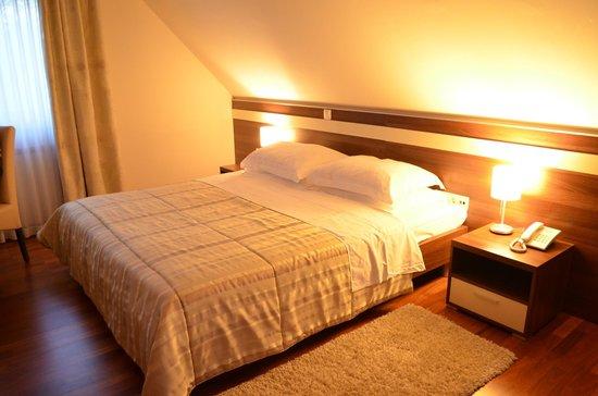 Hotel Degenija : letto grande