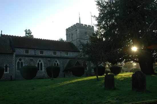 The Ridgeway National Trail: St. Mary's Church in Wendover